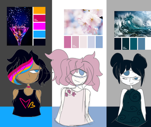 COLOR PALETTE ADOPTS - 10 POINTS EACH (CLOSED) by TinyHanzo