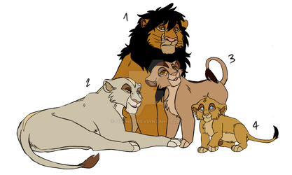 1st GEN - Chopi's family by Olphey