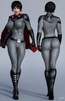 Soviet Superwoman Character Reference by Soviet-Superwoman
