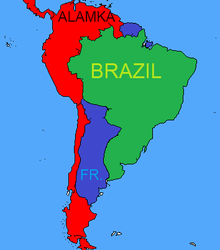 Division of South America by SpringTrapthebest