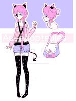 demon adoptable girl open by AS-Adoptables