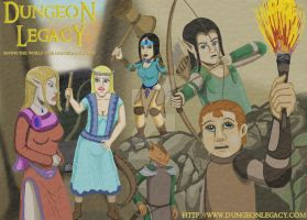 Dungeon Legacy poster by DungeonWarden