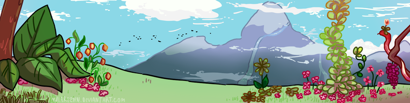 Quickie whimsy bg (preview is cut :  ) by Yuiartenn