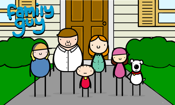 family guy by sooperdave