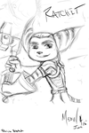 Ratchet Request Sketch by LadyOyuki (MeowmixCat) by YPAJ
