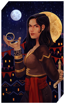 Commission: rouge tarot by RedlyJester