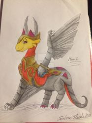 Dragon of the month November 2018 by ServineThistle