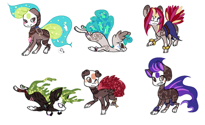 Finnedyr Adopts (27) - OPEN - by HitMeWithBrokenLeave