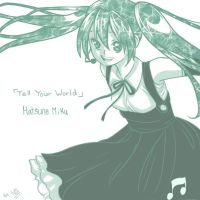 Tell Your World by sho-hei