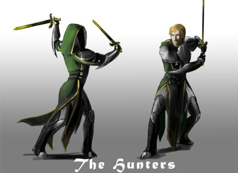 the hunters by TelempathicStudio