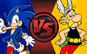 CFC|Game Sonic vs. Asterix by Vex2001