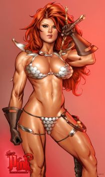 Shade Red Sonja vic55b_colors by vic55b