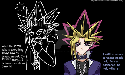 YGO: Inners: Yami by The-PirateQueen