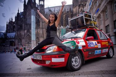 Mongol Rally 2009... by Jageaux