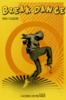 Break Dance Vector by MDesign25