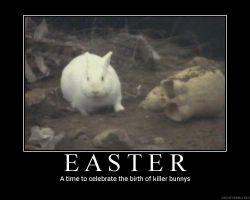 Easter Bunny by hipaul