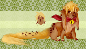 [CLOSED] Honey Leaf [AUCTION] by qekkon