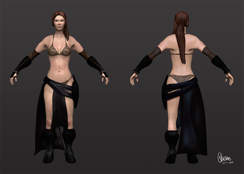 Female character by Oretnas