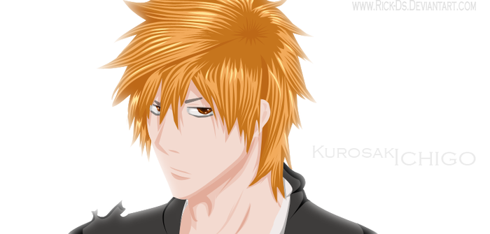 Ichigo Long Hair Color by Rick-Ds