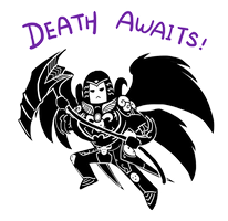 Smite - Death Awaits (Chibi) by Zennore