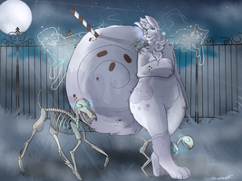 :I Aint Afraid of No Ghost: by ArexStar