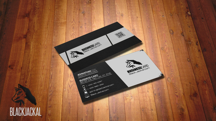 BusinessCard BlacKJackal by Xpertfall