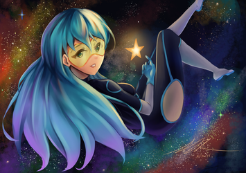 [C] Emi in Space by hellfire153