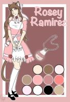 Rosey Ramirez-reference sheet by Pinkwolfly