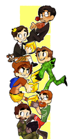 SACANIME: achievement hunts by crovvn