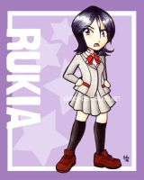 Chibi Series: Rukia by jurijuri