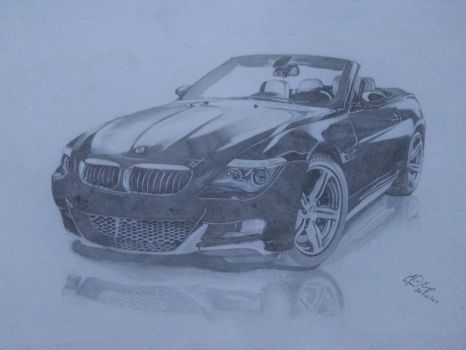 BMW  by realistic-drawinges