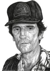 Samuel Brett - Harry Dean Stanton (2016) by JohnerPL