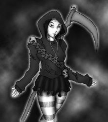 Reaper Girl by CrAze-Kun