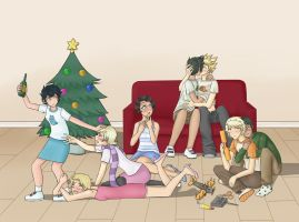 HS ASC Alpha Kids Christmas by ChibiEdo