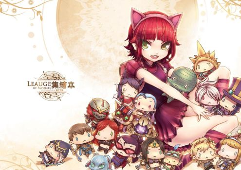 [LOL] Annie cover was finished~! by beanbeancurd