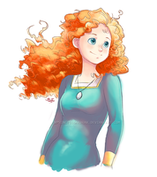 Brave : Princess Merida by xPrincessSakurax