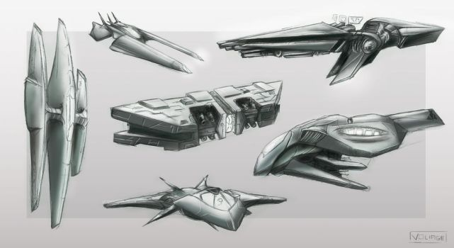 Concept  ship 02 by Voliage
