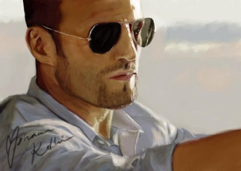 Jason Statham by gizmo-4-ever