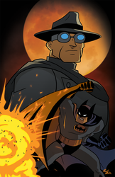 Batman Beware The Grey Ghost by Nick-McD