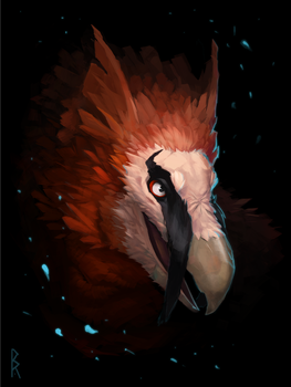 Commission: gryphon by Brevis--art