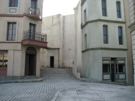 00295 - Deserted European City Streets by emstock