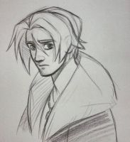 Squall Sketch by Sommum