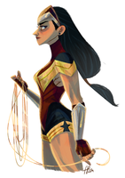 Wonder Woman (I) by ArtofFlo