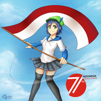 Happy Independence Day, Indonesia! by ipokegear