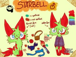 -Starbell (new) reference sheet- by Suga-ruu