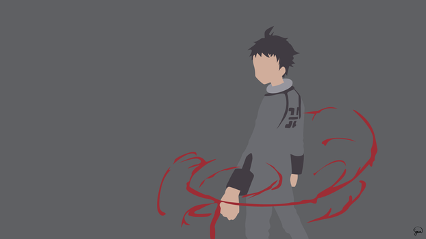 Ganta Igarashi (Deadman Wonderland) Minimalism by greenmapple17