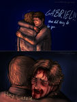 !!!MAJOR SPOILER!!! welcome home Gabe by tiny-fallen-angel