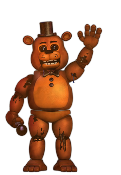 Withered Toy Freddy by KiwiGamer450