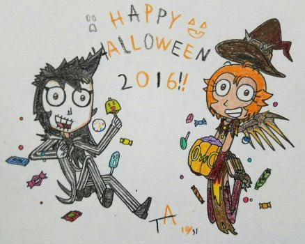 Happy Halloween 2016! by Featherlan