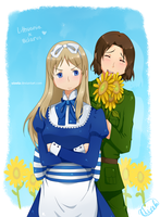 I got you these sunflowers by uixela